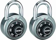 """2pk 1-7/8""""ss Combo Lock"""