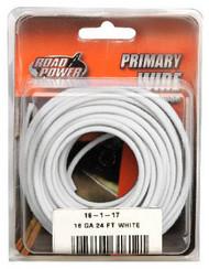 24' Wht 16ga Prim Wire