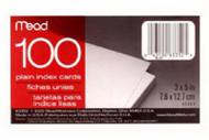 100ct 3x5 Pl Index Card