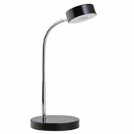Blk Led Desk Lamp