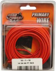 33' Red 18ga Prim Wire