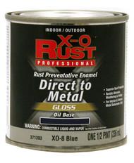 Xo 1/2pt Blu Oil Base