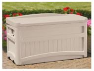 73gal Taupe Deck Box