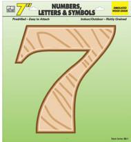"""7"""" Wd Grain Number 7"""