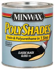 1/2pt Blk Gls Polyshade
