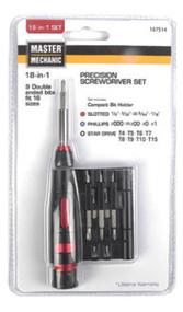 Mm 18/1 Prec Screw Set