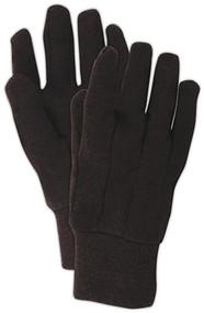 12pk Lg Brn Jers Glove