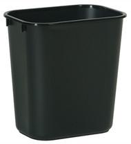 28qt Blk Wastebasket