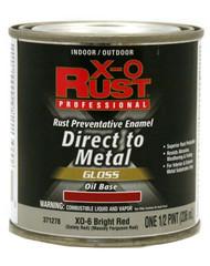 Xo 1/2pt Red Oil Base