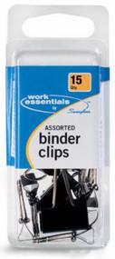 15ct Asstd Binder Clips