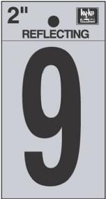 """2"""" Blk Refl Number 9"""