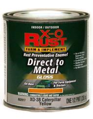 Xo 1/2pt Yel Oil Enamel
