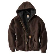 3xl Reg Brn Qfl Jacket