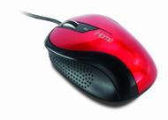 Red Ergo Desktop Mouse