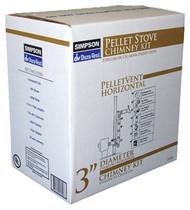 """3"""" Pellet Stovevent Kit"""