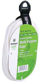 1/4x50 Wht Braid Rope