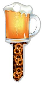 Sc1 Beer Mug Key Blank