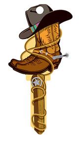 Kw1 Cowboy Key Blank