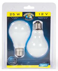 2pk 25w Rv House Bulb