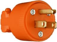 15a 125v Org 3wire Plug
