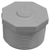 "2.5""sch 40 Pvc Mip Plug"