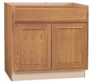 """36""""oak Sink Bas Cabinet"""