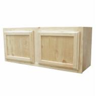 36x15 Pine Wall Cabinet