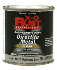 Xo 1/2pt Gry Oil Base