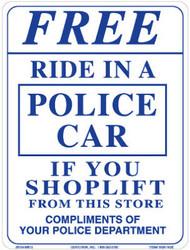 9x12 Free Ride Sign