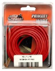 24' Red 16ga Prim Wire
