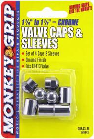 8pc Chr Cap/sleeve