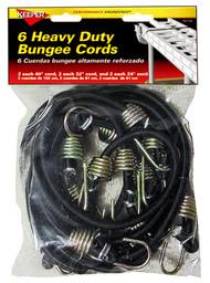6pk Bungee Cord Asstd
