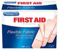 100ct 1x3 Fab Bandage