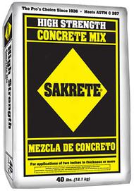40lbsakrete Concretemix