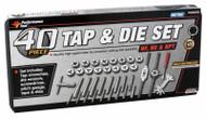 40pc Metric Tap Die Set