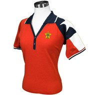 RED LADIES TEXAS ORIGINAL PIQUE POLO