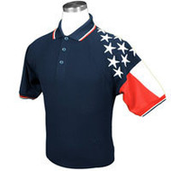 ChiefMart NAVY MEN'S FREEDOM PIQUE POLO