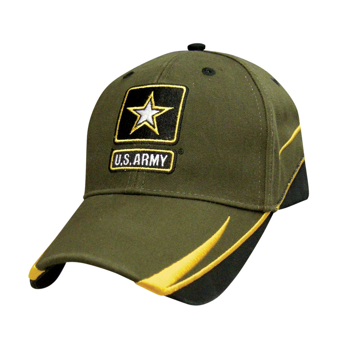 Army Embroidered Cap Baseball Hat United States Army Swish Edition USA SHIPPER