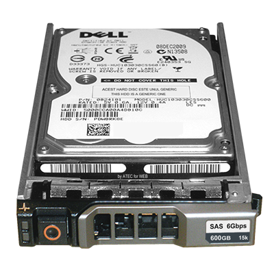 Dell WGK61 600GB 15kRPM 3 5inch SAS-6Gbps HDD for PowerEdge