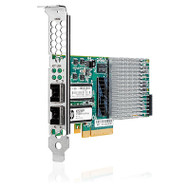 HPE 614203-B21 10Gb PCI Express 2.0 x8 Dual Port Ethernet Multifunction Network Adapter for Proliant Gen8 and Gen9 Server (3 Years Warranty)
