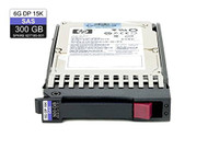 HPE 627195-001 300GB 15000RPM 2.5inch Small Form Factor Dual Port SAS-6Gbps Hot-swap Enterprise Hard Drive for Proliant Generation1 to Generation7 Servers
