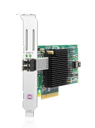HPE 81E AJ762A 8Gb Single Port PCI Express 2.0 x4 / PCI Express x8 Fiber Channel Host Bus Adapter for Proliant Server