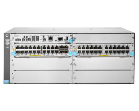 HPE Aruba JL003A 5406R 44GT PoE+ 44Port 4 1/10 Gigabit SFP+ Ports v3 zl2 Gigabit Ethernet Managed Switch (1 Year Warranty)
