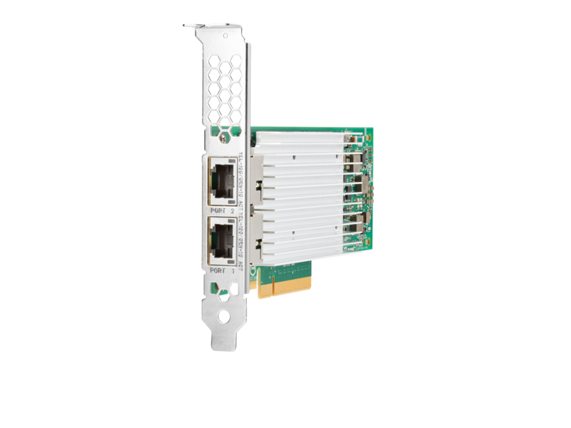 HPE 869573-001 10Gbps Ethernet Dual Port 521T Network Adapter for G10