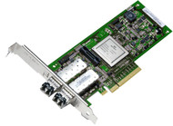 Dell RW9KF PCI Express 2.0X8 Dual Port 8.5GBps Wired Plug-in Card Fibre Channel Host Bus Adapter