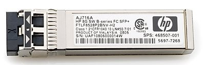 HPE 721748-001 10Gbps Short Wave iSCSI SFP+ 4-Pack Transceiver Module for MSA 2040 Storage (3 Years Warranty)