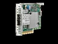 HPE Flexfabric 700749-001 Dual Port 10Gbps Ethernet PCI Express 2.0 x8 534FLR-SFP+ Network Adapter for Proliant Gen9 Gen10 and Apollo Gen9 Gen10 Servers (3 YR)