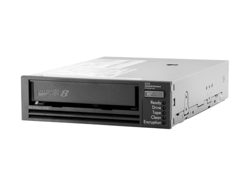 HPE BC022A LTO-8 Ultrium 30750 12TB/30TB 300MBps 29pin internal SAS-6Gbps External Tape Drive (3 Years Warranty)