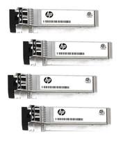 HPE 876144-001 10Gbps Short Range iSCSI SFP+ 4-pack Transceiver Module for Modular Smart Array 2040 SAN Storage (3 Years Warranty)