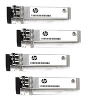 HPE 721000-002 10Gbps Short Range iSCSI SFP+ 4-pack Transceiver Module for Modular Smart Array 2040 SAN Storage (3 Years Warranty)